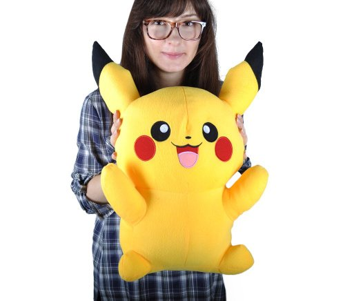 Pikachu Stuffed Animal Big, Giant Big Size Pokemon Pikachu Plush Doll 16 Soft Stuffed Toy 20 Buy Products Online With Ubuy Kuwait In Affordable Prices B00leph40y
