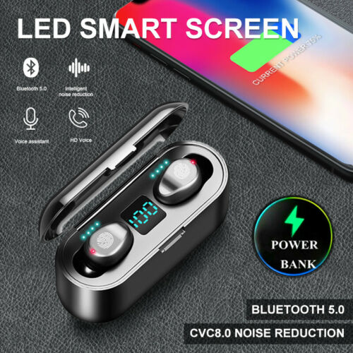 Hot Bluetooth 5 0 Headset Tws Wireless Earphones Mini Earbuds Stereo Headphones Buy Products Online With Ubuy Kuwait In Affordable Prices 392476779401