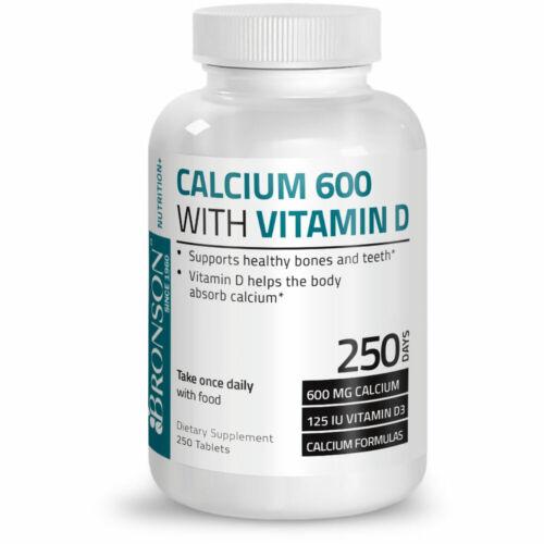 Buy برونسون الكالسيوم 600 مع فيتامين د 250 أقراص Online In Kuwait 283557089629