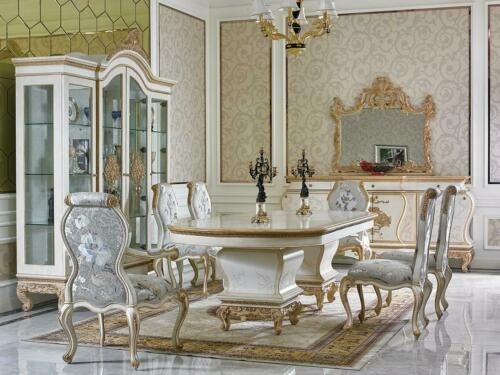 Buy Royal Furniture Dining Room Set Set Dining Table Table 8 Chairs Chair Table E67 Online In Kuwait 401916815007