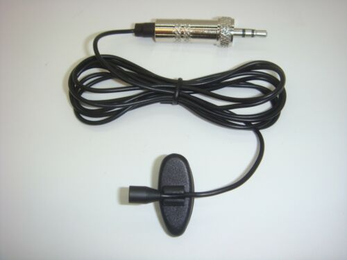 PROFESSIONAL SUB MINIATURE MICROPHONE 4mm CLIP LAPEL LAVALIERE for TRANSMITTER
