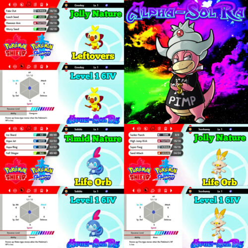 Grooky Shiny : If those sobble and grooky final evos are real, then scorbunny better come with something.