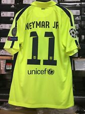 Nike Fc Barcelona Third Jersey 14 15 Neon Navy Neymar 11 Size Mans Large Only Buy Products Online With Ubuy Kuwait In Affordable Prices 303241033290