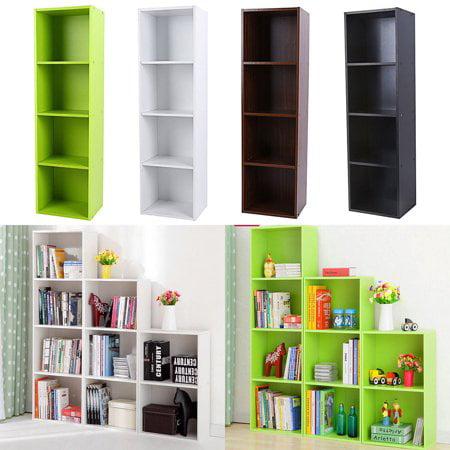 Buy Topincn Adjustable 34 Shelf Bookcase Storage Home Office Bedroom Bookshelf Wood Furniture Book Shelving Online In Kuwait 467882944