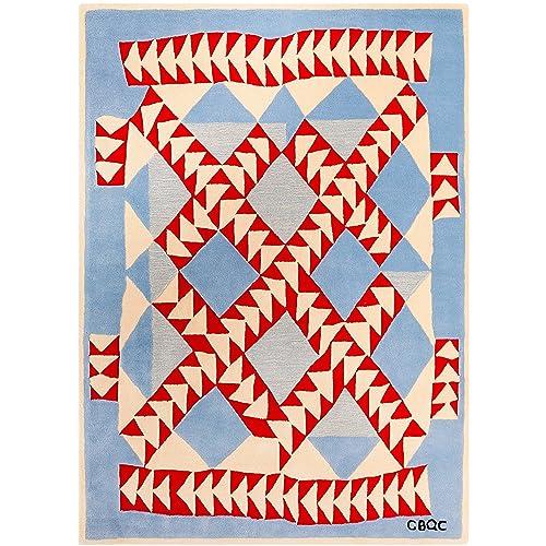 Zealand Wool Bamboo Silk Rug