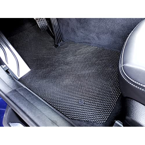 Kaungka Heavy Rubber Car Front Floor Mats Compatible for 2016 2017 2018 Hyundai Tucson-All weather and Season Protection Car Carpet