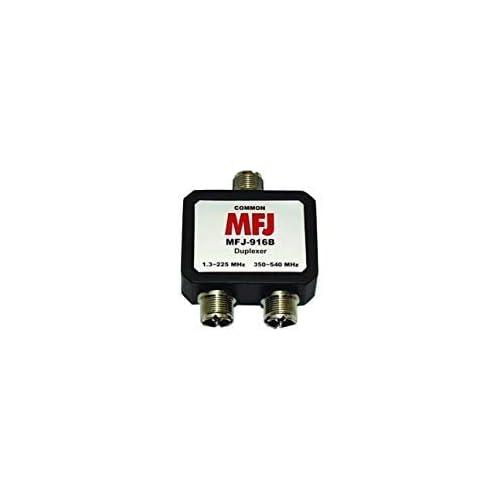 350-540 MHz Duplexer SO-239 New MFJ Enterprises Original MFJ-916B 1.8-225