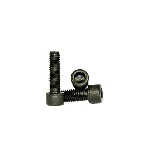 Coarse Thread Quantity: 100 Black Oxide Socket Flat Countersunk Head Cap Screw Length: 2 inch Alloy Steel Partial Thread Hex Socket 5//16 inch Allen Bolt 5//16-18 x 2