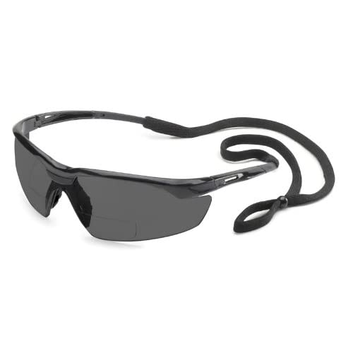 28bf7976fd47 Buy Gateway Safety 28MG15 Conqueror MAG Safety Glasses, 1.5 Diopter  Magnification, Gray Lens, Black Frame with Ubuy Kuwait. B00BCA02RS