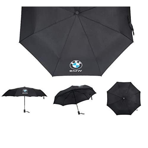 bdcedc4c708a Auto Sport AUTO Open Large Folding Umbrella Windproof Sunshade with Car  Logo (for BMW)