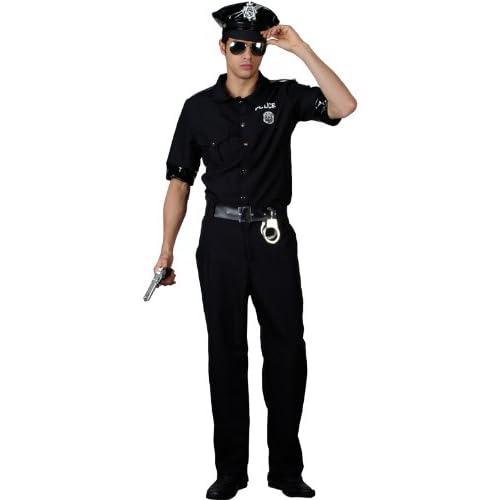 Smiffys US American Police New York Cop Boys Kids Fancy Dress Costume Handcuffs