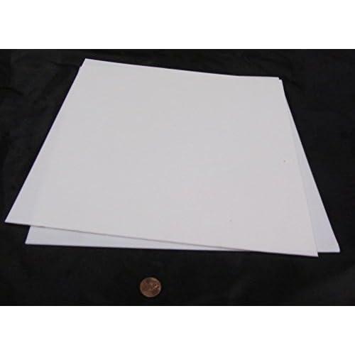 12 x 12 Sheet // 1//32 Thick // Ultra Pure Virgin PTFE PTFE Sheet Stock