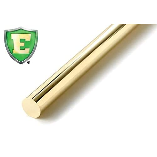 Hexagon 1//4 x 6 American Made ASTM B16 Chase Brass Blue Dot C360 Solid Leaded Brass Rod