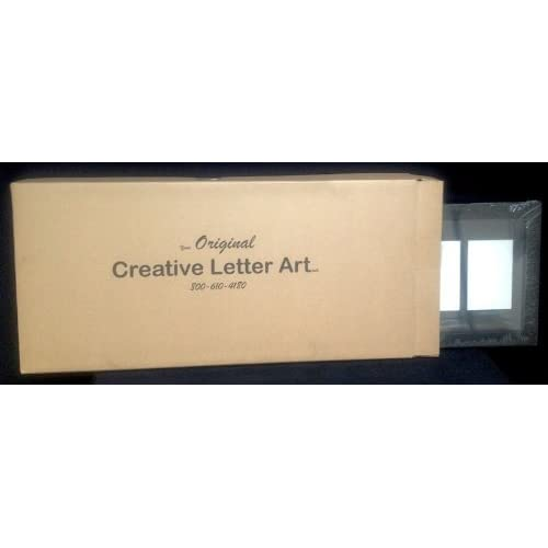 CreativePF 4 Opening Multi 5x7 Mahogany Picture Frame w// 10x24 White Collage Mat