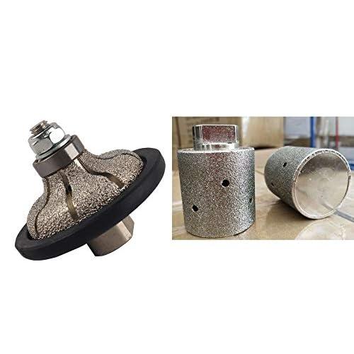 """Zero Tolerance Drum Wheel 1/"""" 2/"""" 3/"""" 4/"""" Granite Engineered Stone Quartzite"""