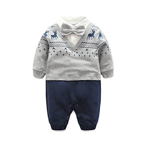Fairy Baby Baby Boy Outfits Gentleman Formal Outfit Long Sleeve Clothes
