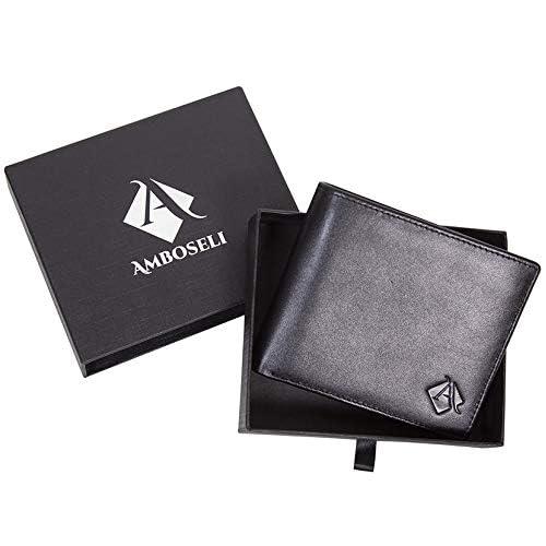 Ref Wallet man Made in Cowhide Handmade in Spain 10058 Black small wallet for men Brand Casanova