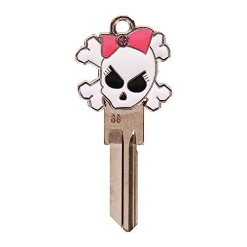 KW1//11 House Key Blank Lucky Line Key Shapes B136K SUGAR SKULL 1 Key