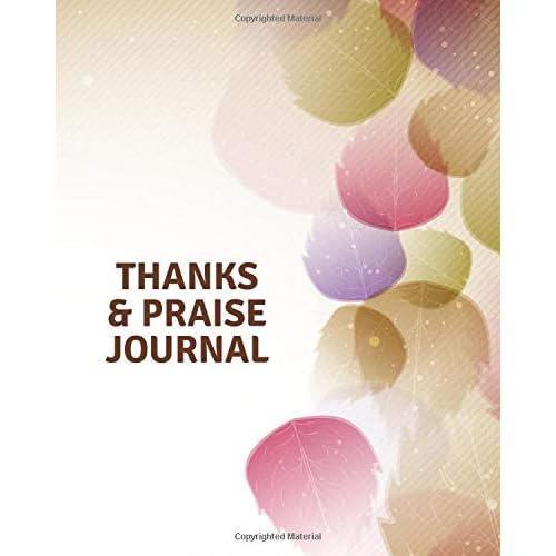 thanks praise journal thank you journal inspirational