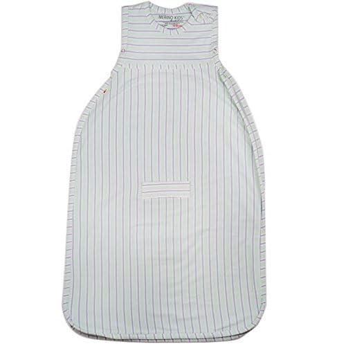 Merino Kids Organic Cotton Baby Sleep Bag for Babies 0-2 Years Juniper