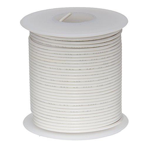 """24 AWG Gauge Stranded Hook Up Wire Violet 100 ft 0.0201/"""" UL1007 300 Volts"""