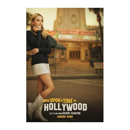 17 Inches x 24 Inches A2 43cm x 61cm ONCE UPON A TIME IN HOLLYWOOD U.S Movie Wall Poster Print
