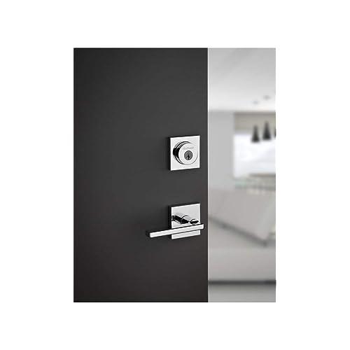 Kwikset 155HFLSQT-11P Halifax Square Privacy Door Lock Venetian Bronze Finish