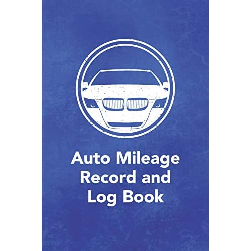 Mileage Log /& Record Book Notebook For Business or Personal 2160 Trip Entries Tracking Your Daily Miles.
