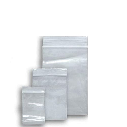 """300 Small Clear 1.5"""" x 2.25"""" Resealable Plastic Bags Polythene Grip Seal"""