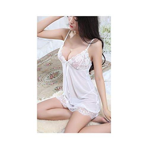 G-String Nightdress HOOUDO Women Lingerie Babydoll Bowknot Sleepwear Underwear Lace Dress
