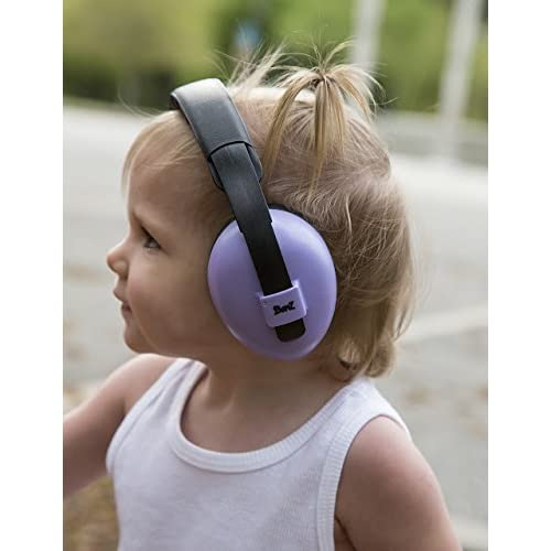 BANZ Earmuffs Infant Hearing Protection The Best Earmuffs for Babies /& Toddlers Grey Doodle Industry Leading Noise Reduction Rating Ages 0-2 Years Block Noise