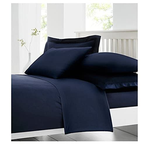 LUXURY 100/% PURE EGYPTIAN COTTON FITTED SHEETS SINGLE 4FEET DOUBLE KING S//KING