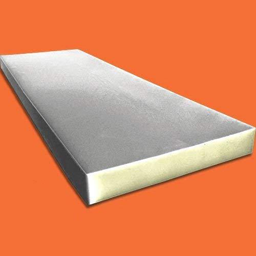 Home or Commercial Use Seat Replacement Foam Cushion AK-Trading Upholstery Foam Cushion Medium Density 1 Height x 24 Width x 72 Length Made in USA