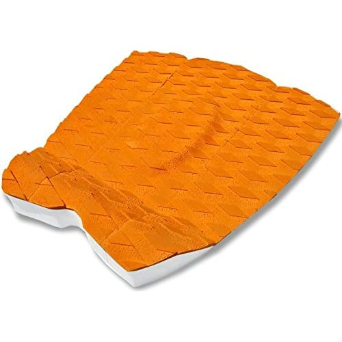 Surfboard Traction Pad 3 Piece Diamond Orange Brown OrangeSkimboard