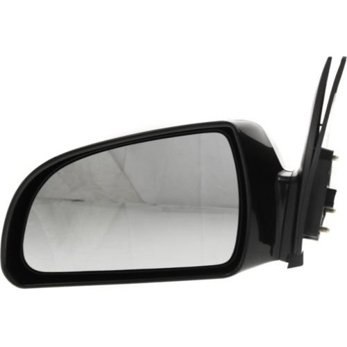 SCITOO Left Driver Black Side View Power Heated Mirror fit 06-10 Hyundai Sonata Rearview Mirror Left Mirror ONLY