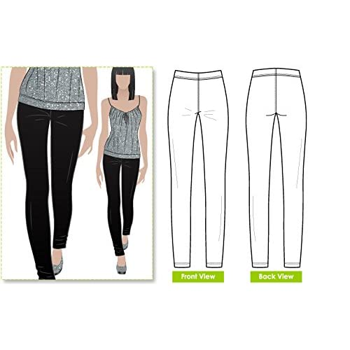 Sizes 04-16 - Click for Other Sizes Available Style Arc Sewing Pattern Beth Pant