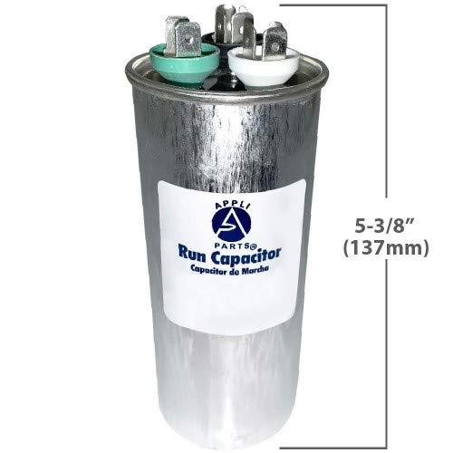 AP Appli Parts Run Capacitor 70+5 Mfd 370-450vac Round