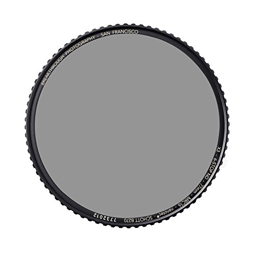 Ultra-Slim WeatherSealed Nanotec Breakthrough Photography 86mm X4 10-Stop Fixed ND Filter for Camera Lenses Neutral Density Professional Photography Filter MRC16 Schott B270 Glass