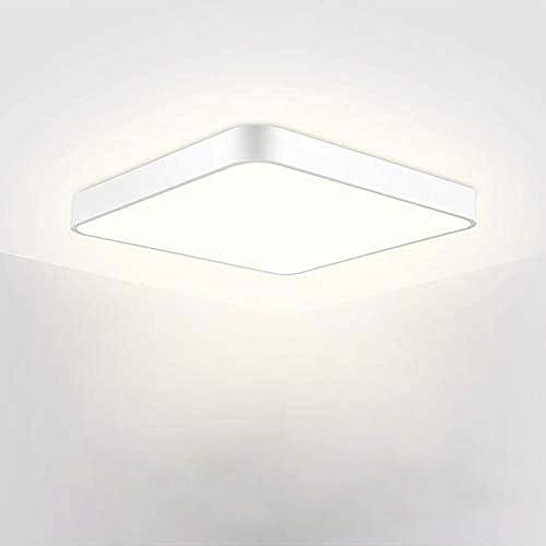 LED Panel Square Flush Mount Ceiling Light Modern Lamp 12/'/'24W 2050LM Cool White