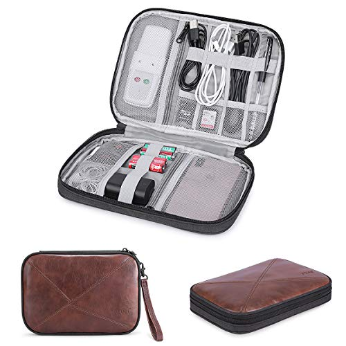 Phone Gopro S-ZONE Electronic Organizer Cable Accessories Travel Gadget Storage for USB
