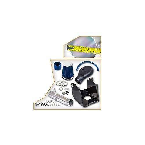 Included Air Filter 94-01 Dodge Ram 1500 5.2L 94-02 Ram 2500 V8 5.9L Heat Shield Intake Blue #Hi-DG-2B 5.9L