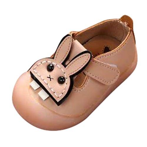 WARMSHOP Baby Girls Princess Cartoon Anti-Slip First Walkers Newborn Soft Sole Sneakers