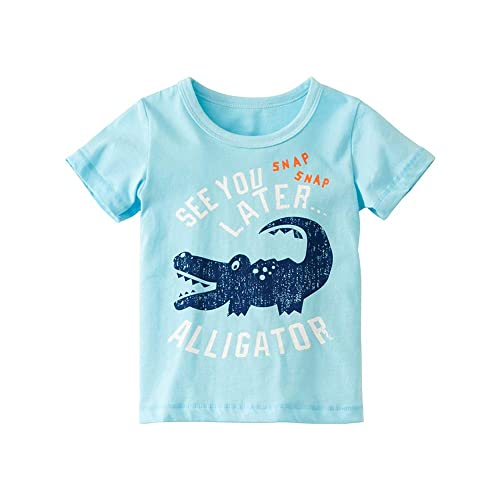 Fabal Kids Baby Boys Short Sleeve Letter Print Tops Short Pants Casual Outfits Set