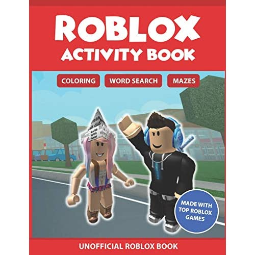 Buy Roblox Activity Book: Coloring, Word search & Mazes