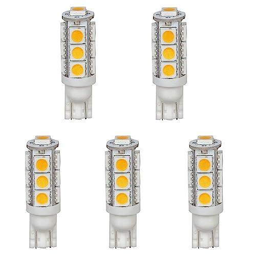 LED Replacements for Malibu Landscape Lighting 6 SMD 194 T10 Wedge Base 12V 10