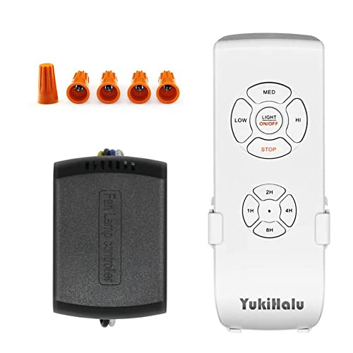 Buy YUKIHALU 3-in-1 Small Size Universal Ceiling Fan Remote ... on