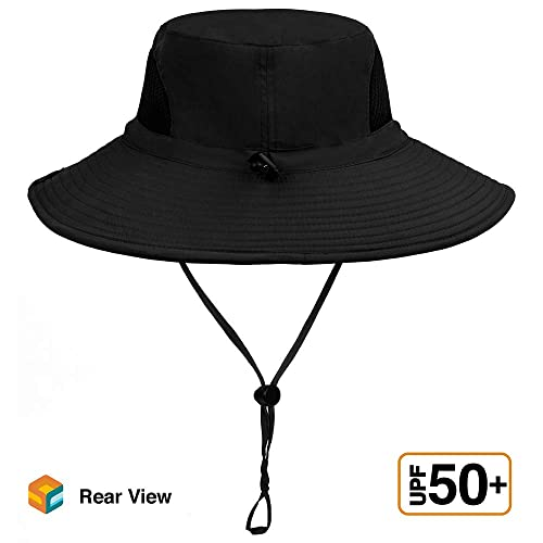 563787a9a Buy Sun Cube Premium Boonie Hat | Wide Brim Adjustable Chin Strap ...