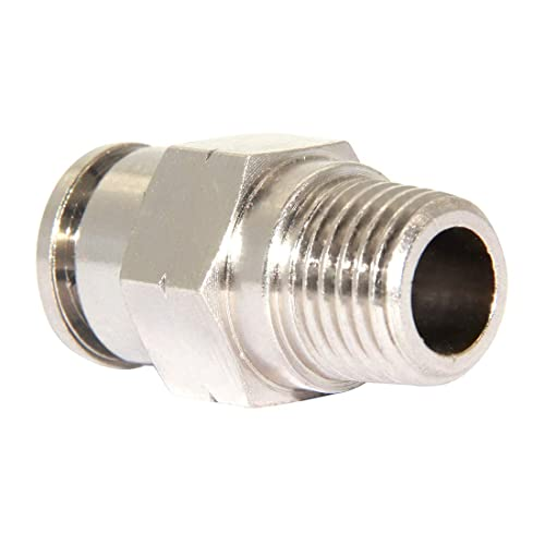 CEKER Push to Connect Fittings Air Fittings 3//8 Branch Tee Air Lines Fittings Pneumatic Fittings 3//8 inch Tube Od Quick Connect Air Hose Fittings 5Packs