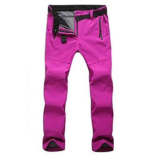 Jessie Kidden Waterproof Trousers Girls Winter Softshell Windproof Fleece Lined Outdoor Walking Hiking Climbing Camping Pants