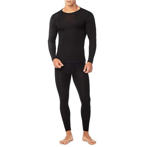 LAPASA Men/'s 100/% Merino Wool Base Layer Long Sleeves Tops/&Bottoms Outdoor Sports Thermal Set Underwear for Trekking Hiking M29,M30,M31,M67,M68